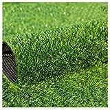 RDJSHOP 15mm Stapel hoher Teppich künstlicher Rasen Garten Rasen Super dichter gefälschter Rasen for Dachterrasse Hochzeitsort Verlegung (Size : 2x10m)