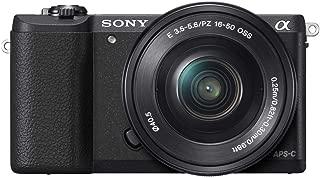ソニー SONY ミラーレス一眼 α5100 パワーズームレンズキット E PZ 16-50mm F3.5-5.6 OSS付属 ブラック ILCE-5100L-B