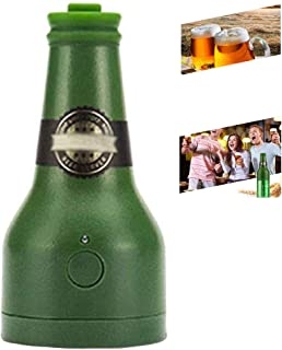Espumador De Cerveza Ultrasónico, Dispensador De Cerveza Portátil, Fiesta, Cocina, Bar, Vino, Herramientas, Regalos Creativos, Bubbler (2 * AA No Incluido),Green