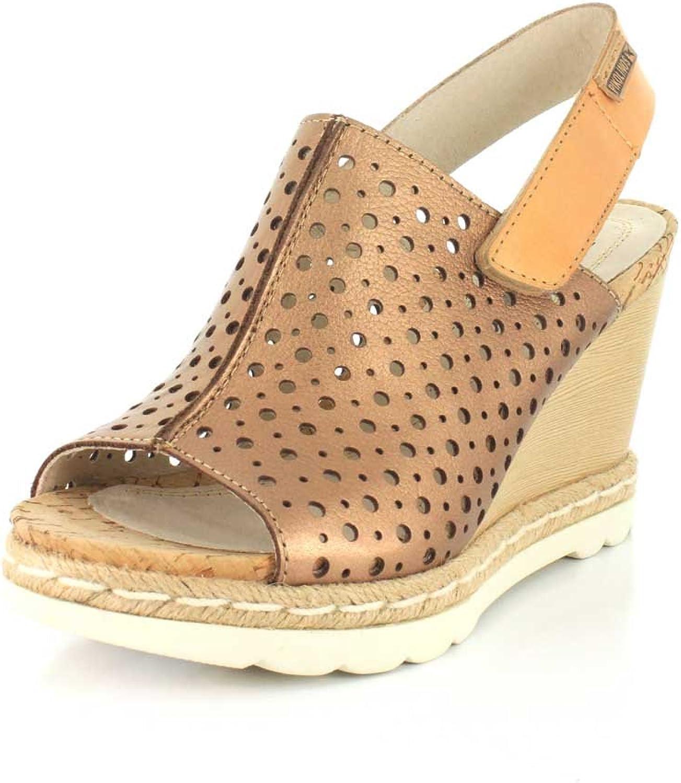 Woherrar Pikolinos, Bali W3L -0922 hög klack Wedge Sandals BRONZE BRONZE BRONZE 3.7 M  online till bästa pris