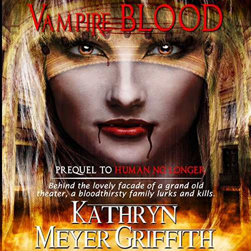 Vampire Blood audiobook cover art