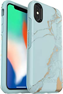 OtterBox Symmetry Series Case for iPhone X & iPhone Xs (Not For The Xr)  (Teal Marble)