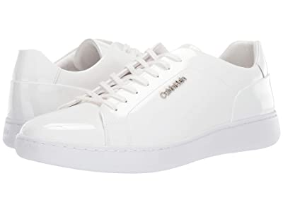 Calvin Klein Fuego (White Patent Leather) Men