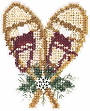 Snowshoes Winter Holiday Collection Counted Cross Stitch Kit-2.75x2.75 14 Count