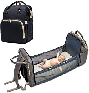Portable Diaper Bag Bassinet for Baby, Multifunctional Baby