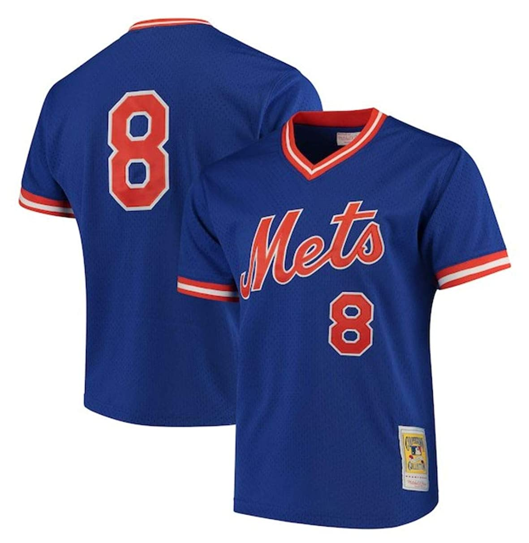 Mitchell & Ness Gary Carter 1986 Authentic Mesh BP Jersey New York Mets