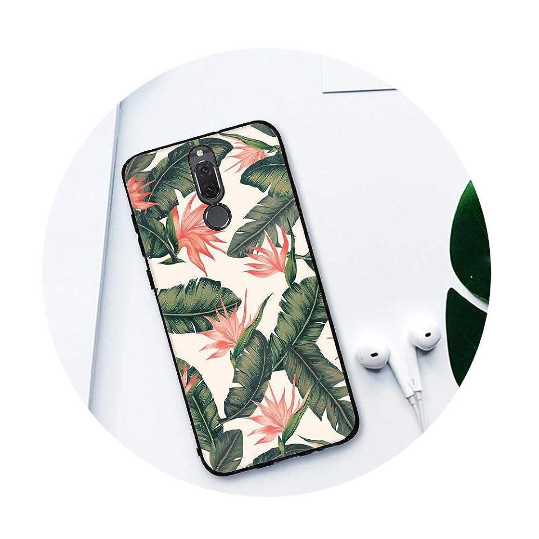 Clauheq Soft TPU Phone Case for Huawei P8 P9 P10 Lite Y9 2018 Enjoy 8 Plus Mate 10 Lite P20 Pro Nova2i Rose Flowers Cover Coque 06 Nova 2i