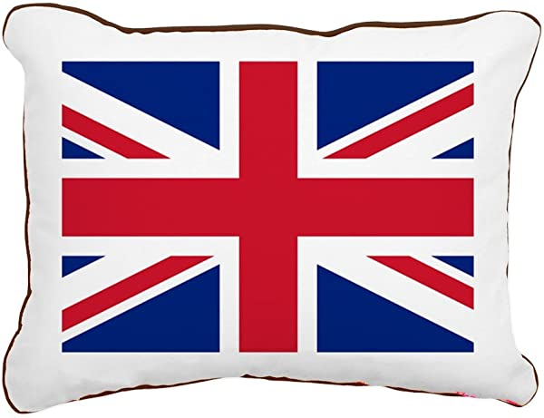 CafePress Union Jack 12 X15 Canvas Pillow Throw Pillow Accent Pillow