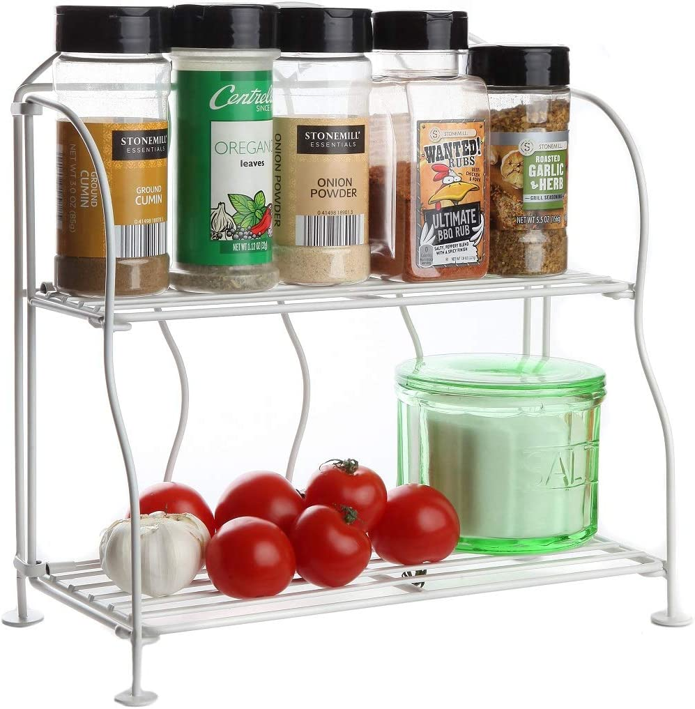 Now free shipping Lily's Home Metal Countertop Wire Great Rack Year-end annual account Househol for Shelf