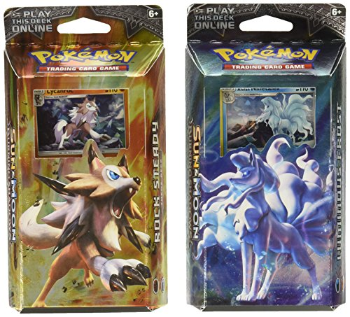 Pokemon Both TCG Sun & Moon Burning Shadows Theme Decks - Ninetales &...