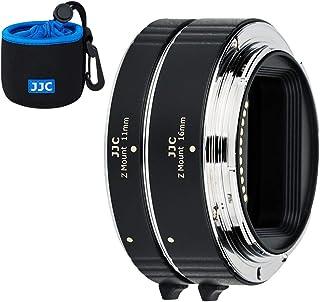 JJC AF rura przedłużająca do autofokusa (11 mm 16 mm) zestaw z ekspozycją TTL do Nikon Z Mount Z5 Z50 Z7 Z6 aparatów i obi...