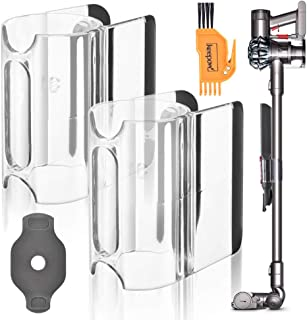 KEEPOW Accessory Holder Attachment Clip Compatible with Dyson V11 V10 V8 V7 Vacuum Cleaner with Roller Brush Key