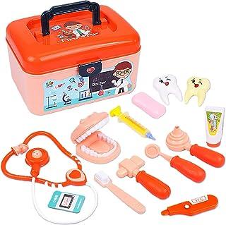 مجموعة ألعاب لأطباء الأسنان للأولاد والبنات والأطفال الصغار من ليكوجيل