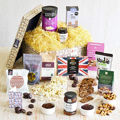 Vegan Gourmet Hamper - Contains a Hand Picked Selection of Artisan British Vegan Treats