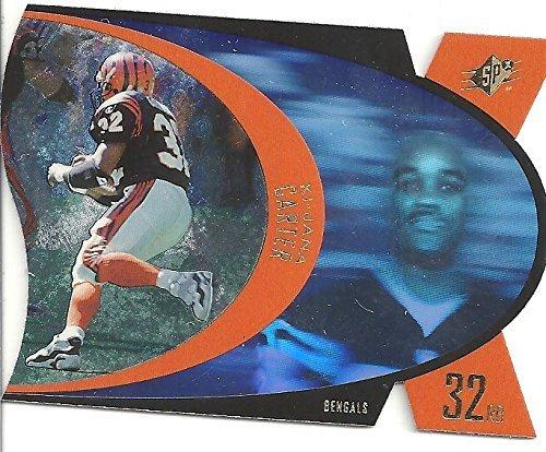 KI - JANA CARTER ROOKIE CARD - 1996 UPPER DECK SPX HOLOGRAM BASEBALL CARD #SPX17 (CINCINNATI BENGALS) FREE SHIPPING