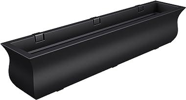 Mayne 5872-B Polyethylene Window Box, Black