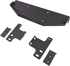 EAG Raised Winch Mounting Plate for OE Factory Bumper Compatible with 07-18 Jeep Wrangler JK