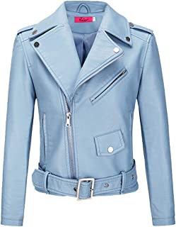 Best baby blue leather jacket womens Reviews