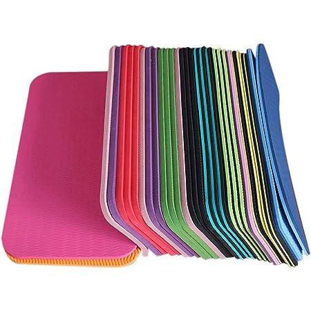 Tapis de Genou de Yoga Tapis de Yoga résistant à l'humidité et antidérapant pour Planche Pilates Protège-Genoux d'exercice pour Le Yoga