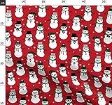 Schneemann, Schnee, Winter, Weihnachten, Weihnachtsstoff