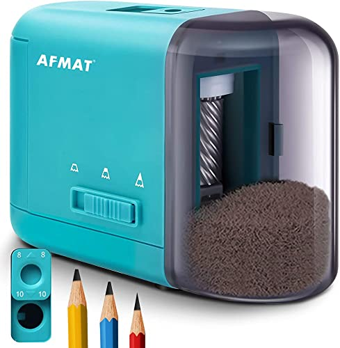 2021 Colored 2021 Pencil Sharpener, Electric Pencil Sharpener for Kids, Handheld high quality Pencil Sharpener for Colored Pencils/No 2 Pencils φ6-10mm, 3 Sharpness Settings, AA Batteries Operated, Blue sale