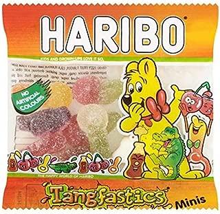 HARIBO Tangfastics Minis 16g - Case of 100 (Bulk Buy)