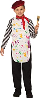 Forum Novelties Child's Artist Costume, As Shown, Medium