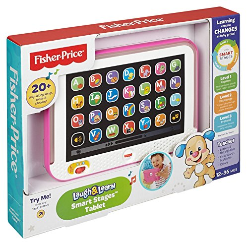 Fisher Price Laugh Learn Smart Stages Tablet (TBC-2015) CHD11 CMC66