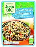 Jardin Bio Duo de Quinoa aux Légumes 250 g - Pack de 6