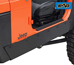 EAG Off-Road Rocker Side Panel Kit Fit for 76-86 Jeep Wrangler CJ7