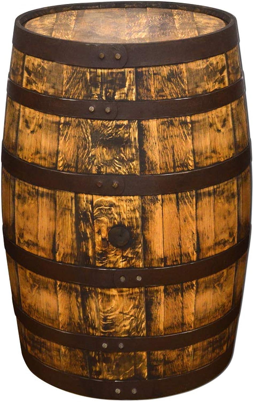 Temesso Originales schottisches Whiskyfass, Holzfass, Whisky Fass, Schnapsfass - angeschliffen - 190L (Oberflche gelt)