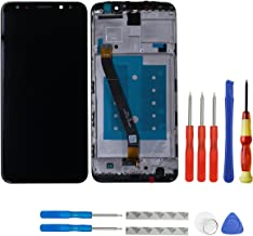 swark LCD Display Compatible Huawei Mate 10 Lite RNE-L01 RNE-L21 RNE-L23 LCD Touch Screen Display Frame + Tools (Black)