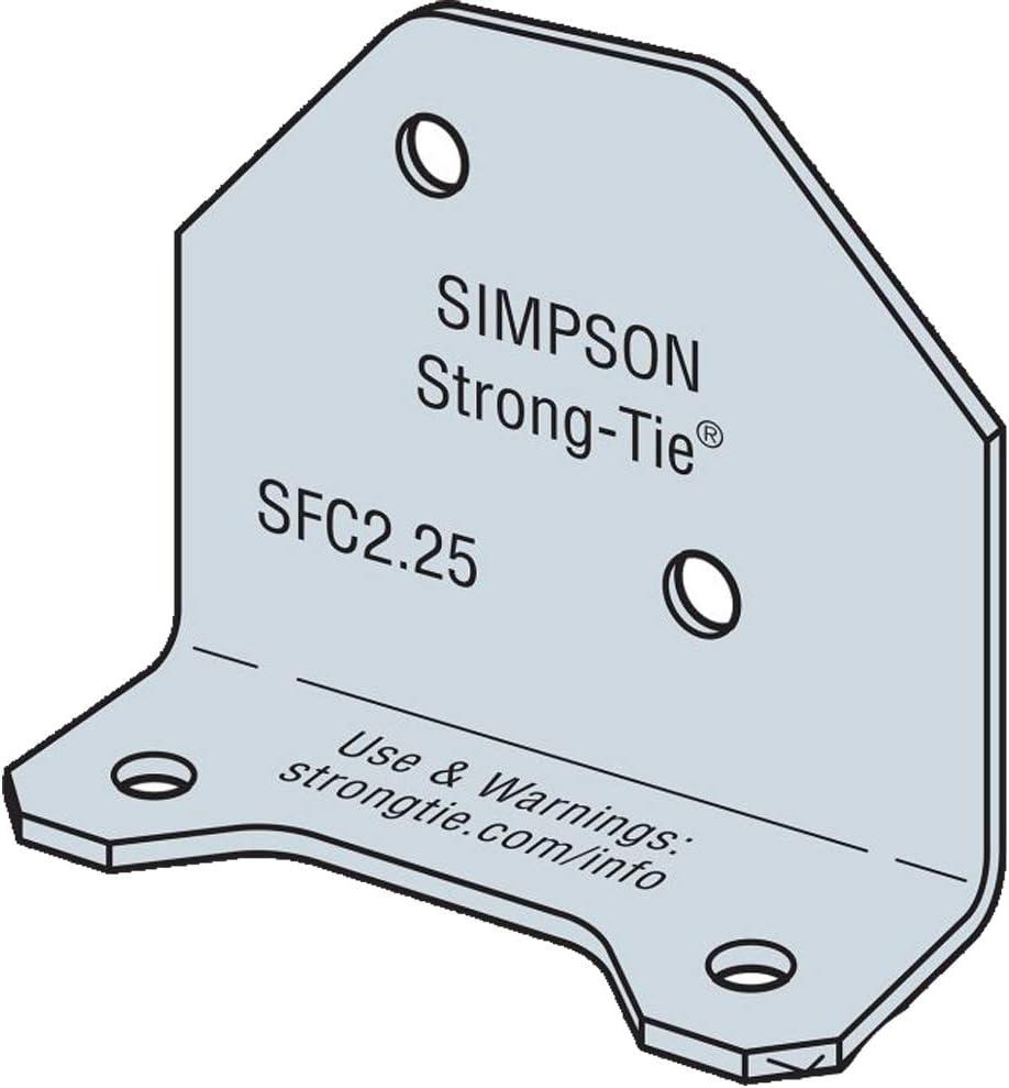 Simpson Strong-Tie SFC2.25-R300 Steel El Paso Mall Framing 4