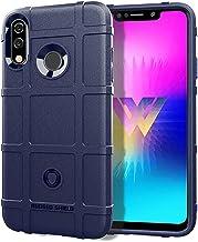 Mobile phone case Full Coverage Shockproof TPU Case for LG W30(Black) (Color : Blue)