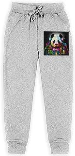 Yuanmeiju Panda Pop Samurai Boys Pantalones Deportivos,Pantalones Deportivos for Teens Boys Girls