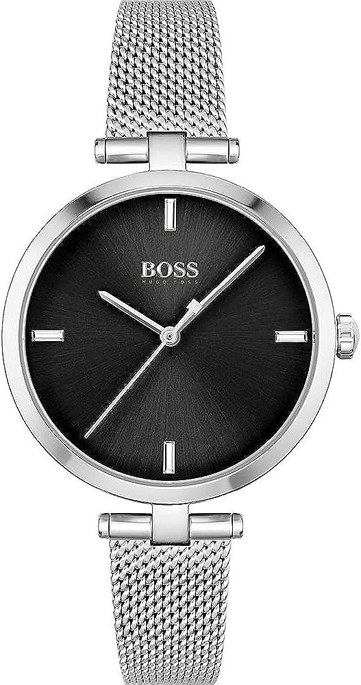 Hugo BOSS Reloj Cosa análoga para De Las Mujeres de Cuarzo con Correa en Acero Inoxidable 1502594