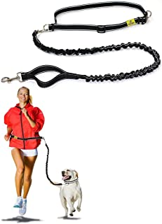 Hertzko Hands Free Dog Leash Great Running Leash for m=Medium to Large Dogs - Strong, Durable and Weather Resistant Nylon ...