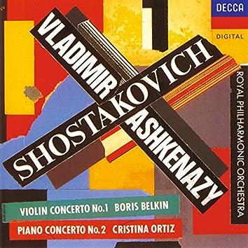 Shostakovich: Violin Concerto No.1; Piano Concerto No.2