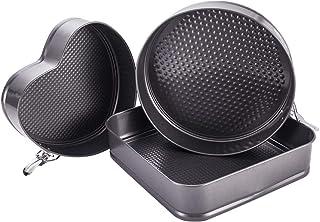 Bakeware Cake Pan Nonstick Oven Baking Tray Bake Pan Set, Kitchen Cooking Accessories, Set of 3