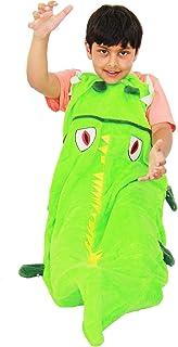Kids Blanket Mermaid Tail Crocodile Unicorn Shark Soft Fleece Sleeping Bag Fancy