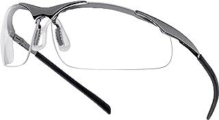 Advanced Bolle Contour CONTMPSI anti-Resistente a los arañazos y anti-empañamiento estructura de Metal gafas de seguridad de [unidades 1] con Min 3 años Cleva garantía