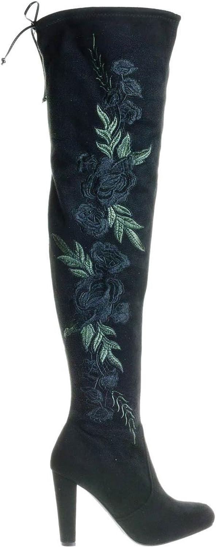 Wild Diva Over The Knee High Heel Boots