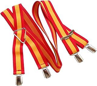 Rojo Lentejuelas ** nuevo ** Tirantes De Adulto 96 X 2.5cm