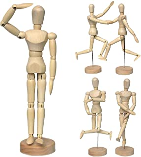 Artist Wooden Manikin Mannequin Sketching Lay Figure Drawing Model Aid Human Figure Artist Draw Painting Model Mannequin J...