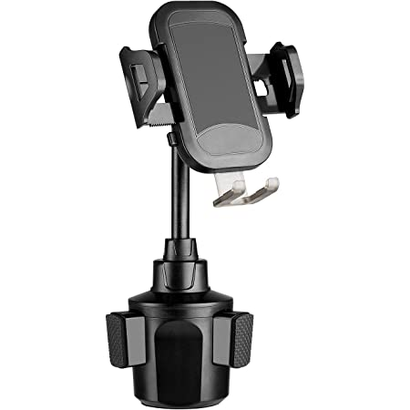 Adjustable Long Neck Cup Phone Cradle Car Mount Compatible for iPhone 12//SE//11 Pro//XR//XS Max//8 Plus//Samsung S20+ Andobil Cup Holder Phone Mount Ultimate Easy Clamp Hands-Free Cup Phone Holder for Car
