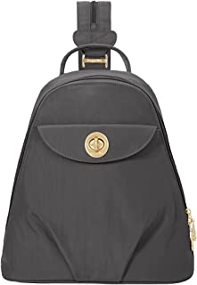 Baggallini Dallas Convertible Multifunctional Sling Backpack Durable Everyday Use Fashionable Stylish