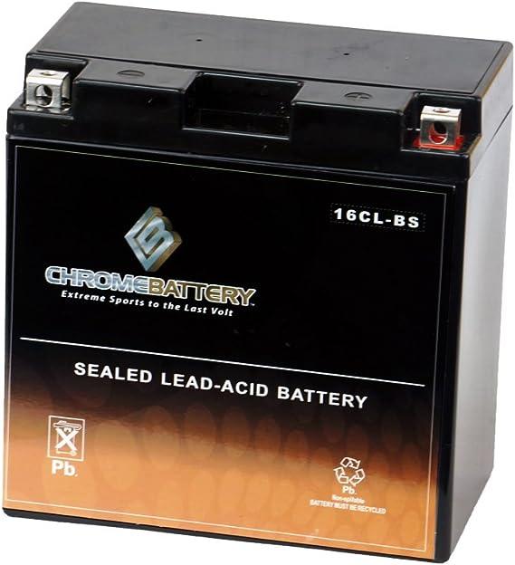 Chrome Battery YB16CL-BS Jet Ski Battery