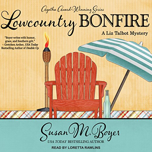 Lowcountry Bonfire audiobook cover art
