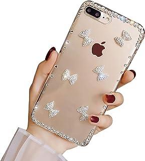 Bling Diamant Hoesje voor Samsung Galaxy S20 FE, LCHDA Glanzend Helder Kristal Strass Glimmend Diamanten Glitter Edelsteen...