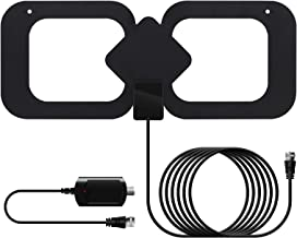 TV Antenna,Amplified Digital HD TV Antenna 200 Miles Range - Support 4K 1080P Fire TV Stick and All TVs with Latest Indoor...